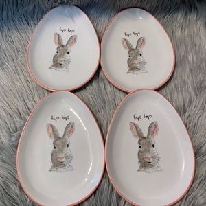 Other - Rae Dunn pink bunny plates